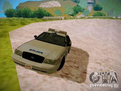 Ford Crown Victoria Toronto Police Service для GTA San Andreas вид слева
