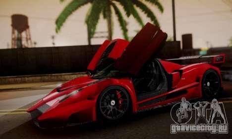 Ferrari Gemballa MIG-U1 для GTA San Andreas вид справа