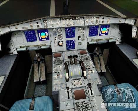 Airbus A340-313 Turkish Airlines для GTA San Andreas двигатель