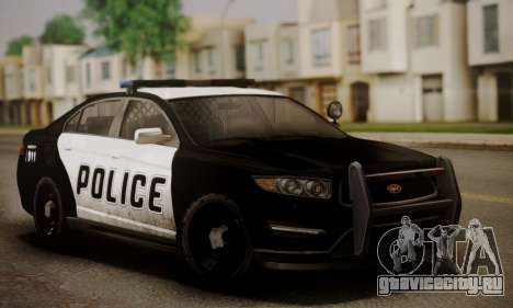 Vapid Police Interceptor from GTA V для GTA San Andreas