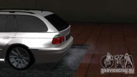 BMW 530d для GTA San Andreas вид справа