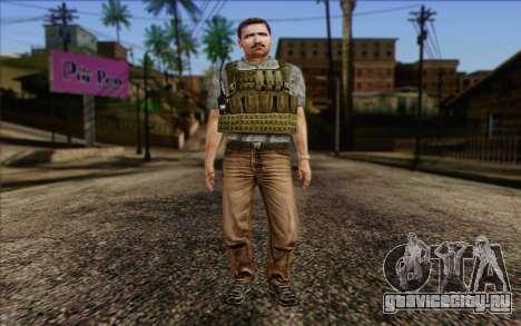Dixon from ArmA II: PMC для GTA San Andreas
