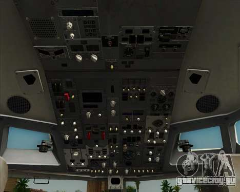 Boeing 737-890 Alaska Airlines для GTA San Andreas двигатель