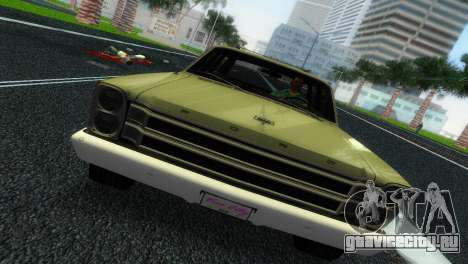 Ford Country Squire для GTA Vice City вид сзади