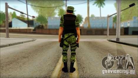 Skin Sedena Secretaria De La Defensa Nacional для GTA San Andreas второй скриншот