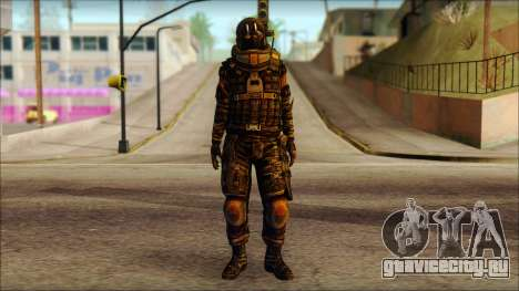 Наёмник (Tom Clancy Splinter Cell: Blacklist) для GTA San Andreas