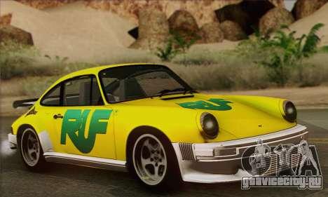 RUF CTR Yellowbird 1987 для GTA San Andreas салон