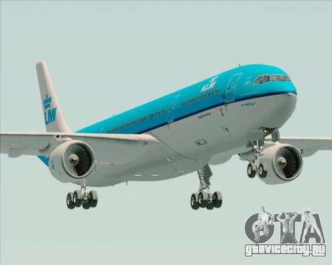 Airbus A330-300 KLM Royal Dutch Airlines для GTA San Andreas