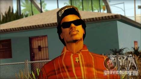 Eazy-E Red Skin v2 для GTA San Andreas третий скриншот