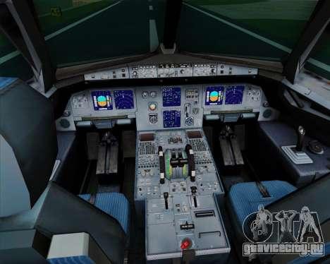 Airbus A321-200 TAM Airlines для GTA San Andreas салон