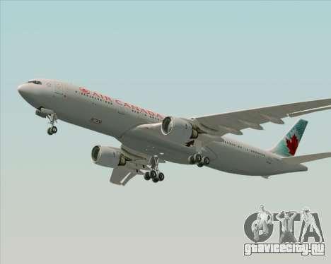Airbus A330-300 Air Canada для GTA San Andreas вид сбоку