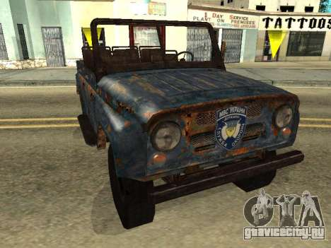 Полицейский УАЗ из S.T.A.L.K.E.R для GTA San Andreas