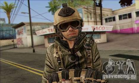 Task Force 141 (CoD: MW 2) Skin 17 для GTA San Andreas третий скриншот