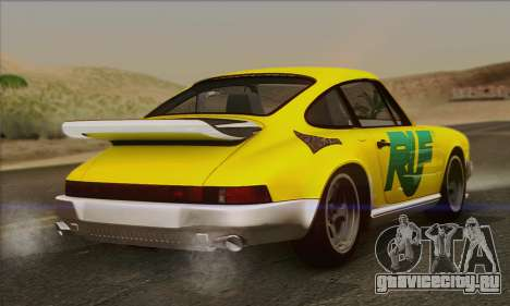 RUF CTR Yellowbird 1987 для GTA San Andreas двигатель