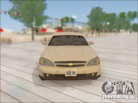 Chevrolet Evanda для GTA San Andreas вид сверху