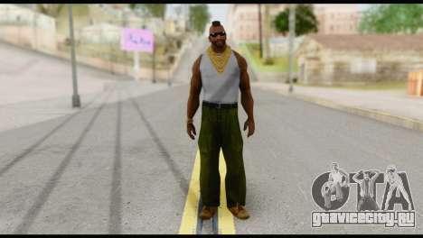 MR T Skin v4 для GTA San Andreas