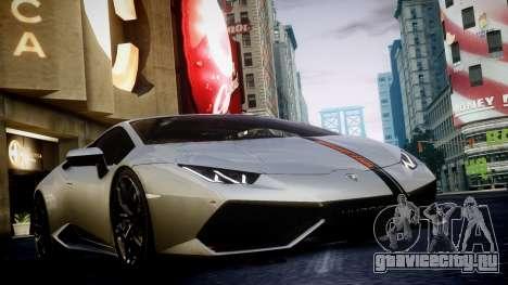 Lamborghini Huracan LP850-4 2014 Wheelsandmore для GTA 4 вид сзади