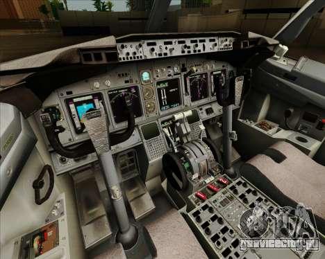Boeing 737-890 Alaska Airlines для GTA San Andreas салон