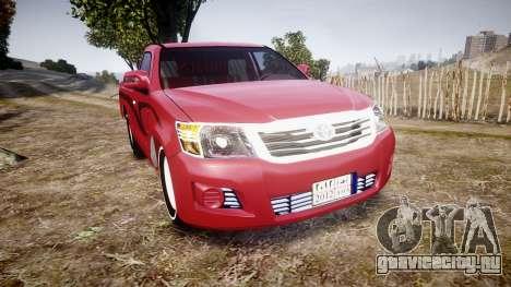 Toyota Hilux 2014 для GTA 4