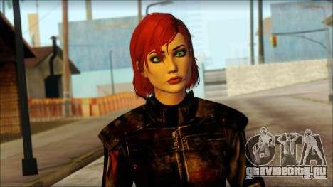 Mass Effect Anna Skin v6 для GTA San Andreas третий скриншот