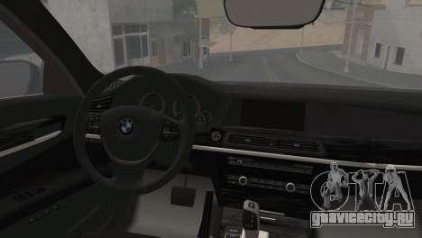 BMW F01 750Li 2009 для GTA San Andreas вид слева