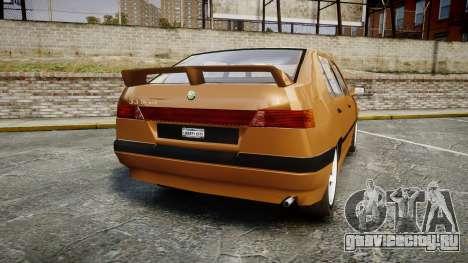 Alfa Romeo 33 1991 для GTA 4 вид сзади слева