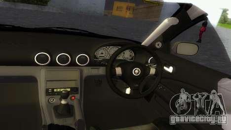 Nissan Silvia S15 TUNING JDM для GTA Vice City вид сзади