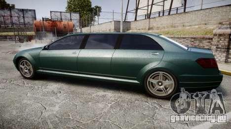 Benefactor Schafter Limousine для GTA 4 вид слева