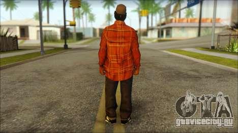 Eazy-E Red Skin v2 для GTA San Andreas второй скриншот