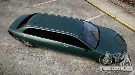 Benefactor Schafter Limousine для GTA 4 вид справа