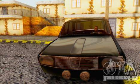 Dacia 1300 WRC Black Edition для GTA San Andreas