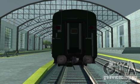 Garib Rath Express для GTA San Andreas вид изнутри