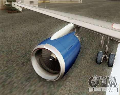Airbus A320-232 British Airways для GTA San Andreas двигатель