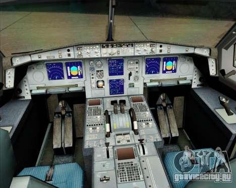 Airbus A340-311 House Colors для GTA San Andreas салон