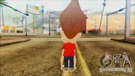 Jimmy Neutron для GTA San Andreas второй скриншот