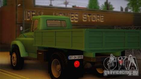 Steagul Rosu 116 Bucegi для GTA San Andreas вид слева