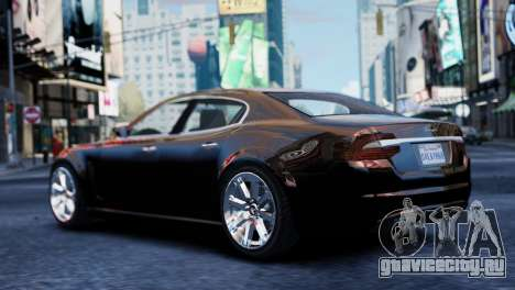 GTA 5 Lampadati Felon для GTA 4 вид слева
