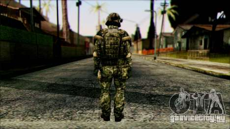 Боец (PLA) v6 для GTA San Andreas второй скриншот