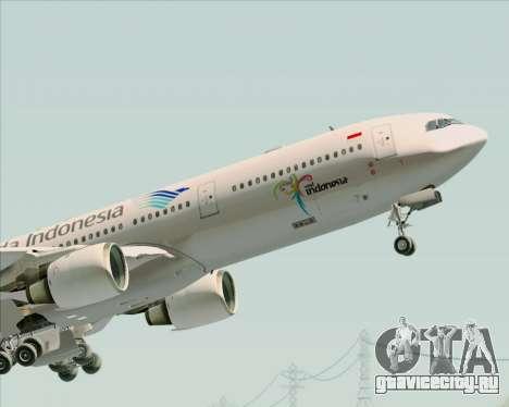 Airbus A330-300 Garuda Indonesia для GTA San Andreas двигатель