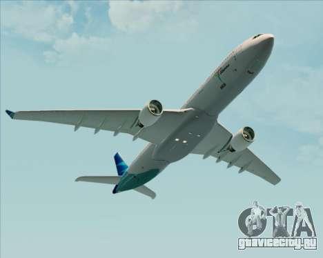 Airbus A330-300 Garuda Indonesia для GTA San Andreas салон