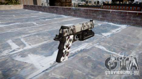 Пистолет Kimber 1911 Diamond для GTA 4 второй скриншот