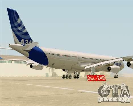Airbus A340-311 House Colors для GTA San Andreas вид справа