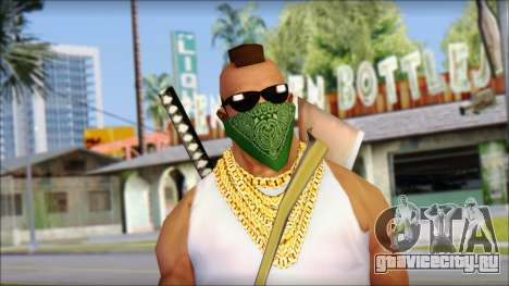 MR T Skin v12 для GTA San Andreas третий скриншот
