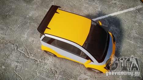 GTA V Benefactor Panto для GTA 4 вид справа