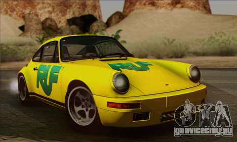 RUF CTR Yellowbird 1987 для GTA San Andreas вид сбоку