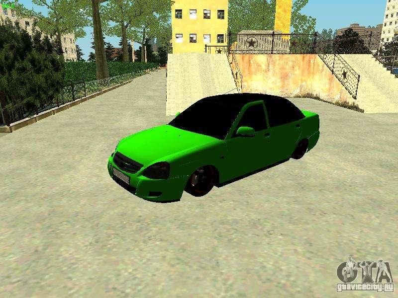 Скачать машину Лада Приора Lada Priora для GTA 5
