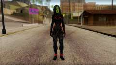 Guardians of the Galaxy Gamora v1 для GTA San Andreas