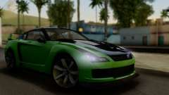 GTA V Elegy RH8 Twin-Turbo (IVF) для GTA San Andreas