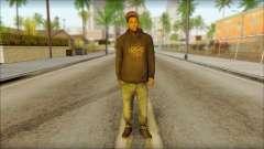 New Grove Street Family Skin v2 для GTA San Andreas