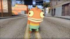 Boranfish from Sponge Bob для GTA San Andreas